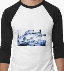 P51 Fighter Men's Baseball ¾ T-Shirt