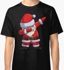 Dabbing Santa T Shirt Claus Christmas Funny Dab X-mas Gifts Kids Boys Girls Men Women Classic T-Shirt