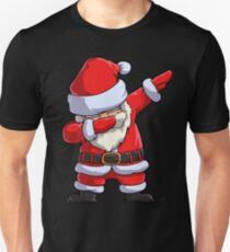 Dabbing Santa T Shirt Claus Christmas Funny Dab X-mas Gifts Kids Boys Girls Men Women Slim Fit T-Shirt