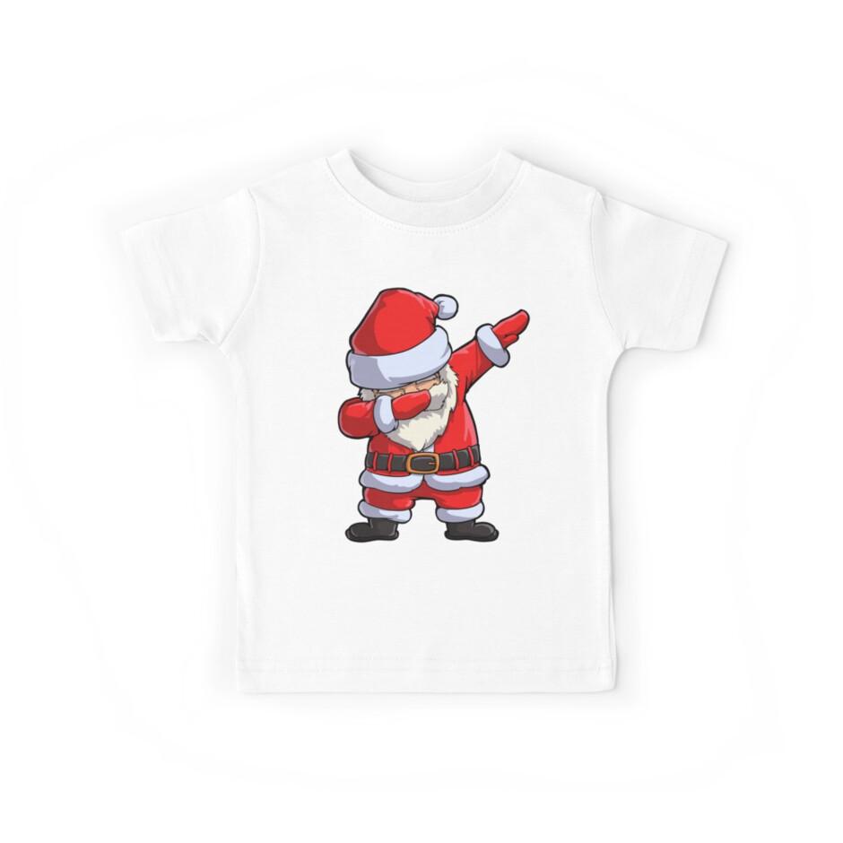 Dabbing Santa T Shirt Weihnachtsmann Weihnachten lustig Tupfen X-mas ...