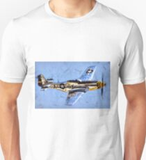 P51 Fighter Unisex T-Shirt