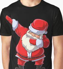Dabbing Santa T Shirt Claus Christmas Funny Dab X-mas Gifts Kids Boys Girls Youth Graphic T-Shirt