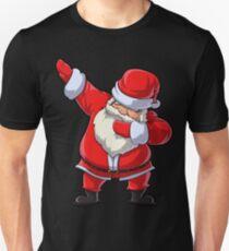 Dabbing Santa T Shirt Claus Christmas Funny Dab X-mas Gifts Kids Boys Girls Youth Slim Fit T-Shirt