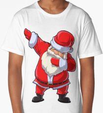 Dabbing Santa T Shirt Claus Christmas Funny Dab X-mas Gifts Kids Boys Girls Youth Long T-Shirt