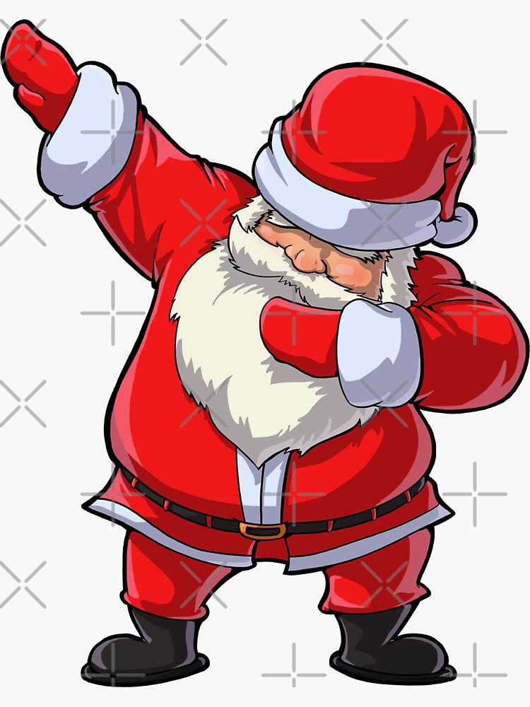 Dabbing Santa T Shirt Claus Christmas Funny Dab X-mas Gifts Kids Boys Girls Youth by LiqueGifts