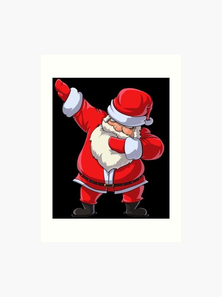 101829ac5 Dabbing Santa T Shirt Claus Christmas Funny Dab X-mas Gifts Kids Boys Girls  Youth