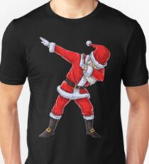Dabbing Santa T Shirt Claus Christmas Funny Dab X-mas Gifts Kids Boys Girls Youth Unisex T-Shirt