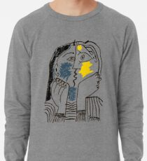 Pablo Picasso Kiss 1979 Artwork Reproduction For T Shirt, Framed Prints Lightweight Sweatshirt