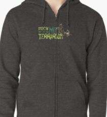 i am only available with terrarium Zipped Hoodie