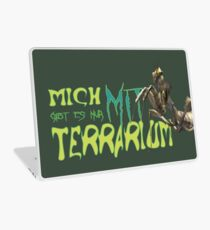 i am only available with terrarium Laptop Skin
