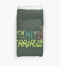 i am only available with terrarium Duvet Cover