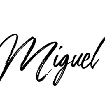 Hey Miguel buy this now by Your-Name-Here