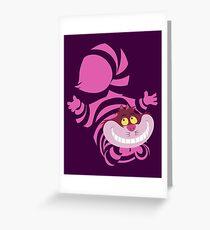 Tarjeta de felicitación De-Su Art - Cheshire el gato