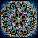 Red Star Mandala - Art&Deco By Natasha by ArtDecoNatasha