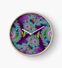 D1G1TAL-M00DZ ~ GALLIMAUFRY ~ Purple by tasmanianartist Clock