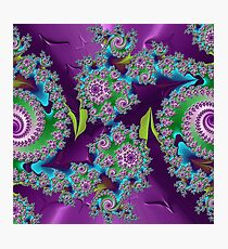 D1G1TAL-M00DZ ~ GALLIMAUFRY ~ Purple by tasmanianartist Photographic Print