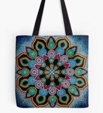 Red Star Mandala - Art&Deco By Natasha Tote Bag