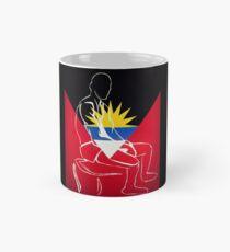 Custom Stencil Man (Antigua)  Mug