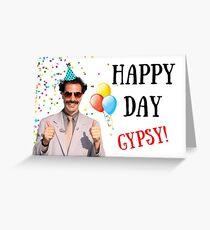 Borat birthday card, Borat greeting card, Graduation card, Anniversary card Greeting Card
