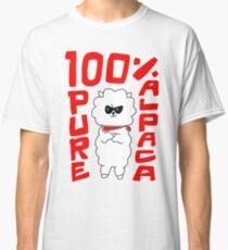 100% reines Alpaka Classic T-Shirt