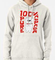 100% reines Alpaka Hoodie