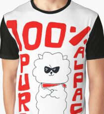 100% Pure Alpaca Graphic T-Shirt
