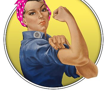 Rosie the Riveter by reapolo