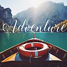 Live the Adventure - typography by badamg