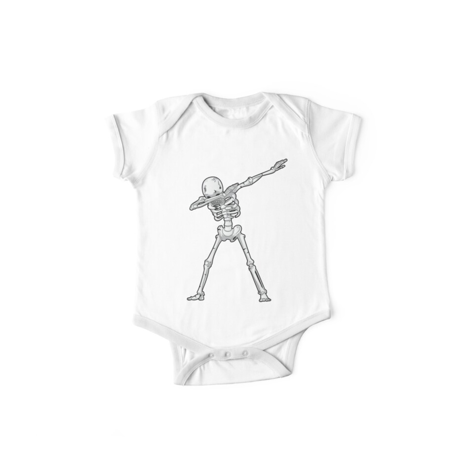 b6af0ac40 Dabbing Skeleton T shirt Halloween Costume Funny Scary Zombie Dab Dance T Shirt  Kids Boys Men