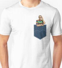 Pocket Jeff Goldblum  Unisex T-Shirt