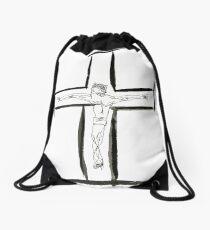 Good Friday Drawstring Bag