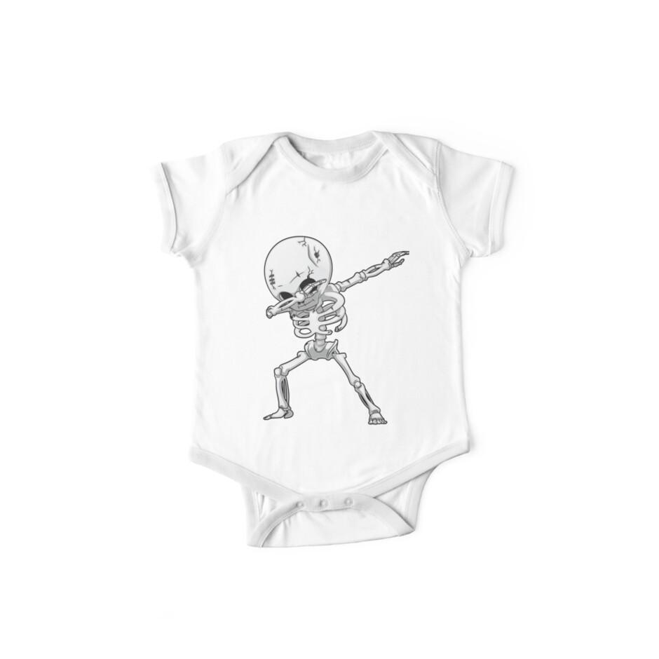 9b03f1af Dabbing Skeleton T shirt Halloween Costume Funny Scary Zombie Dab Dance T-Shirt  Kids Boys Men Gifts