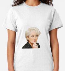 miranda priestly meryl streep Classic T-Shirt