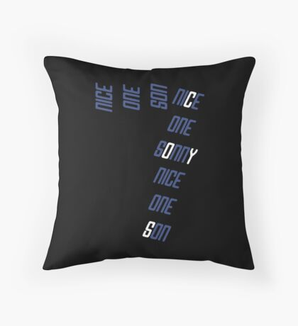Nice one Son 7 Throw Pillow