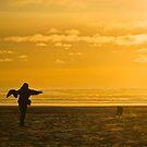 love on a beach by Bruce  Dickson