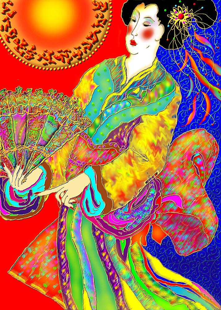 'Kabuki' by luvapples downunder/ Norval Arbogast