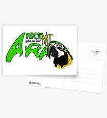 i am available only with ara Postcards