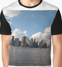 Manhattan, #Manhattan, New York City, #NewYorkCity, New York, #NewYork Graphic T-Shirt