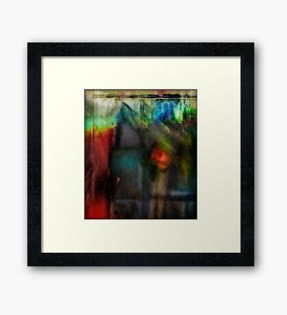 Substratum Framed Print
