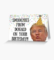 Smoochies on your birthday Greeting Card