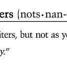 Definition of a Notts NaNoer by nottsnano