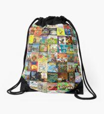 Children's Books Drawstring Bag