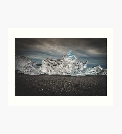 Diamond Beach Iceland Kunstdruck
