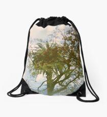 The City of Trees Drawstring Bag
