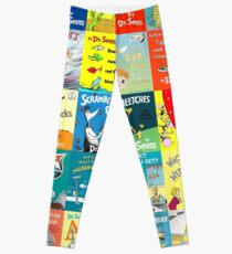 Dr. Seuss Book Covers Leggings