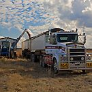 Loading the Grain by Richard  Windeyer