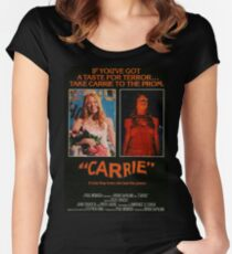 Carrie 1976 Fitted Scoop T-Shirt