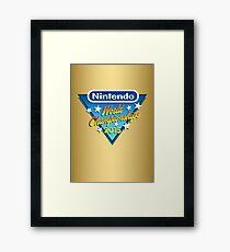 Nintendo World Championships 2015 Logo Framed Print
