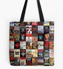 Stephen King Novels Tote Bag