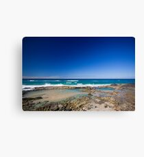 Champagne Pools, Fraser Island Canvas Print